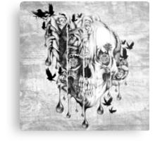 Melt down Metal Print