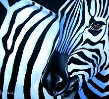 Zebra Fever — Wildlife Art by Cherie Roe Dirksen by Cherie Roe Dirksen