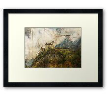 Tangle Mountain Framed Print