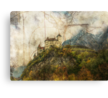 Tangle Mountain Canvas Print