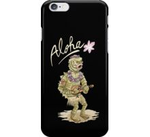 Aloha from black lagoon iPhone Case/Skin