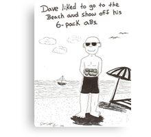 Birthday 6-pack Canvas Print