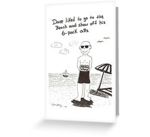 Birthday 6-pack Greeting Card