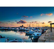 Trapani Port Photographic Print