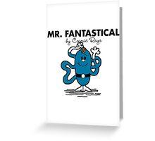 Mr Fantastical Greeting Card