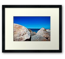 Rocky Sea Framed Print