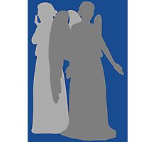 Enemies of the Doctor #10 - The Weeping Angels Photographic Print