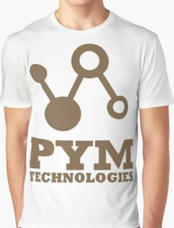 Pym Technologies - Gold Graphic T-Shirt