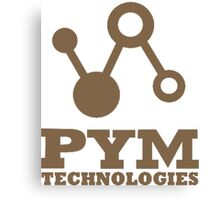 Pym Technologies - Gold Canvas Print