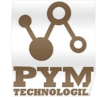Pym Technologies - Gold Poster
