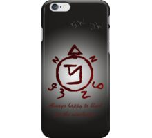Always happy to bleed... iPhone Case/Skin