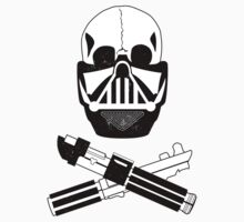 Vader and Cross Sabers (Dirty Version) Kids Clothes