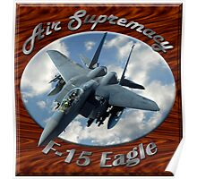 F-15 Eagle Air Supremacy Poster