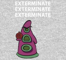 Exterminate/ day of tentacle Kids Clothes
