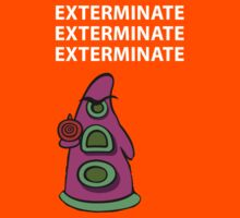 Exterminate/ day of tentacle Kids Tee