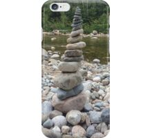 Stacked River Rocks iPhone Case/Skin