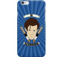 Doctor Who Portraits - Eleventh Doctor - Geronimo iPhone Case/Skin