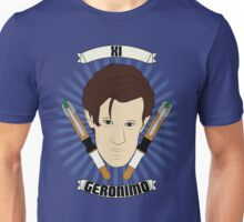 Doctor Who Portraits - Eleventh Doctor - Geronimo Unisex T-Shirt