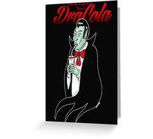 Dracola Greeting Card