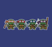 Mitesized Turtles by Nemons