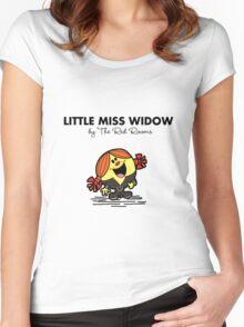 Little Miss Widow Women's Fitted Scoop T-Shirt