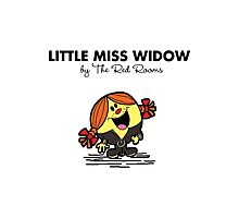 Little Miss Widow Photographic Print