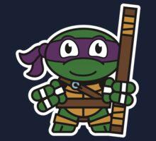 Mitesized Donatello One Piece - Long Sleeve