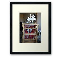 Love is stronger than death 1  Framed Print