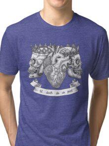 'Til Death Do Us Part, Life and Death Illustration Tri-blend T-Shirt