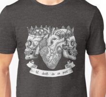 'Til Death Do Us Part, Life and Death Illustration Unisex T-Shirt