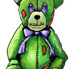 Green Zombie Bear by Cantus