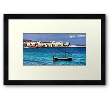 Choro Old Harbour Framed Print