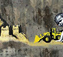 hastings Banksy & DS by gruntpig