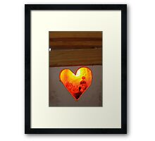 Love is stronger than death 5 Framed Print
