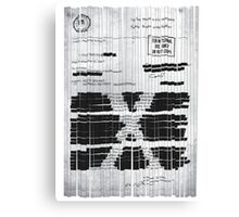 Ex-File Canvas Print