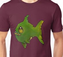 Green Zombie Fish Unisex T-Shirt