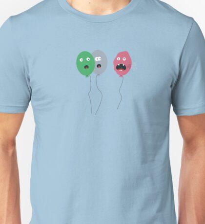 Ruptured balloon Unisex T-Shirt