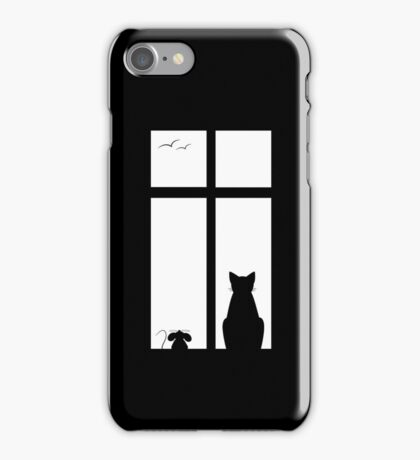 Cat & Mouse Friendship iPhone Case/Skin