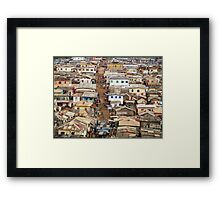 Ghana, West Africa Framed Print