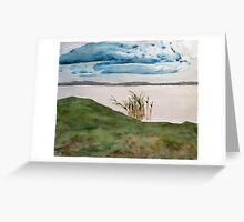 lakeside reeds Greeting Card