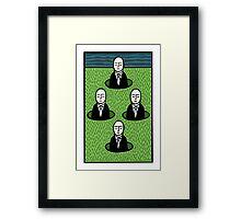 My lawn Framed Print