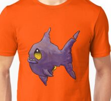 Purple Zombie Fish Unisex T-Shirt
