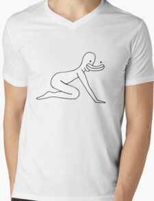 Happily Mens V-Neck T-Shirt