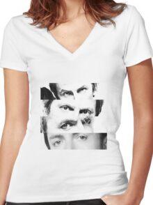 Duran Duran Women's Fitted V-Neck T-Shirt