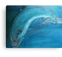 Harry the handsome fish. Canvas Print