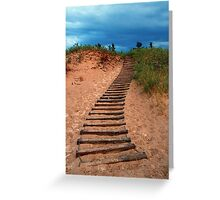Dune Climb Greeting Card