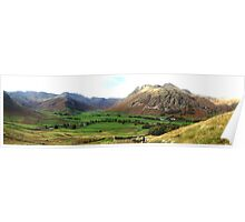 Great Langdale in Autumn Poster