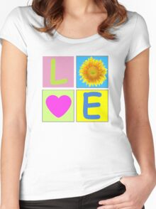Love 4 Women's Fitted Scoop T-Shirt