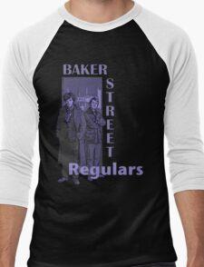 Baker Street Regulars Men's Baseball ¾ T-Shirt