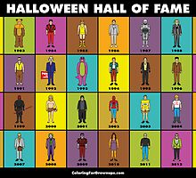 Halloween Hall of Fame POSTER by CFGbook